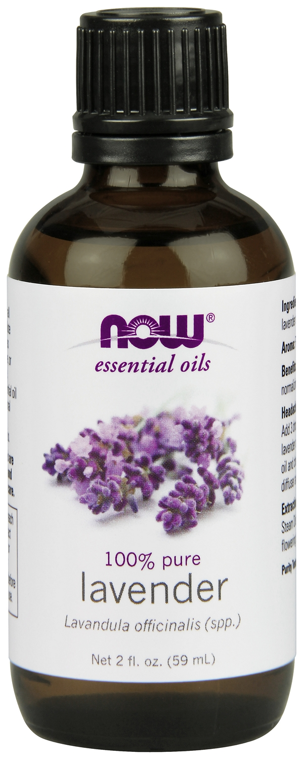 Lavender Oil 2 fl oz (59 ml) by NOW Foods