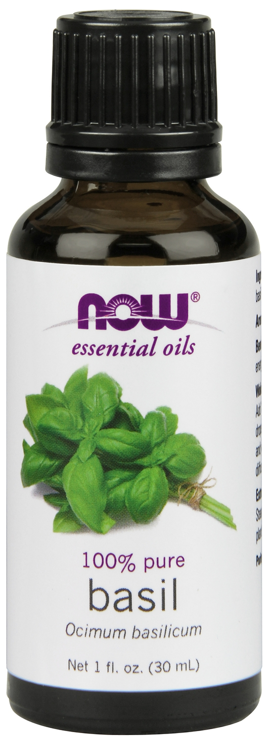 Basil Oil 1 fl oz (30 ml) by NOW