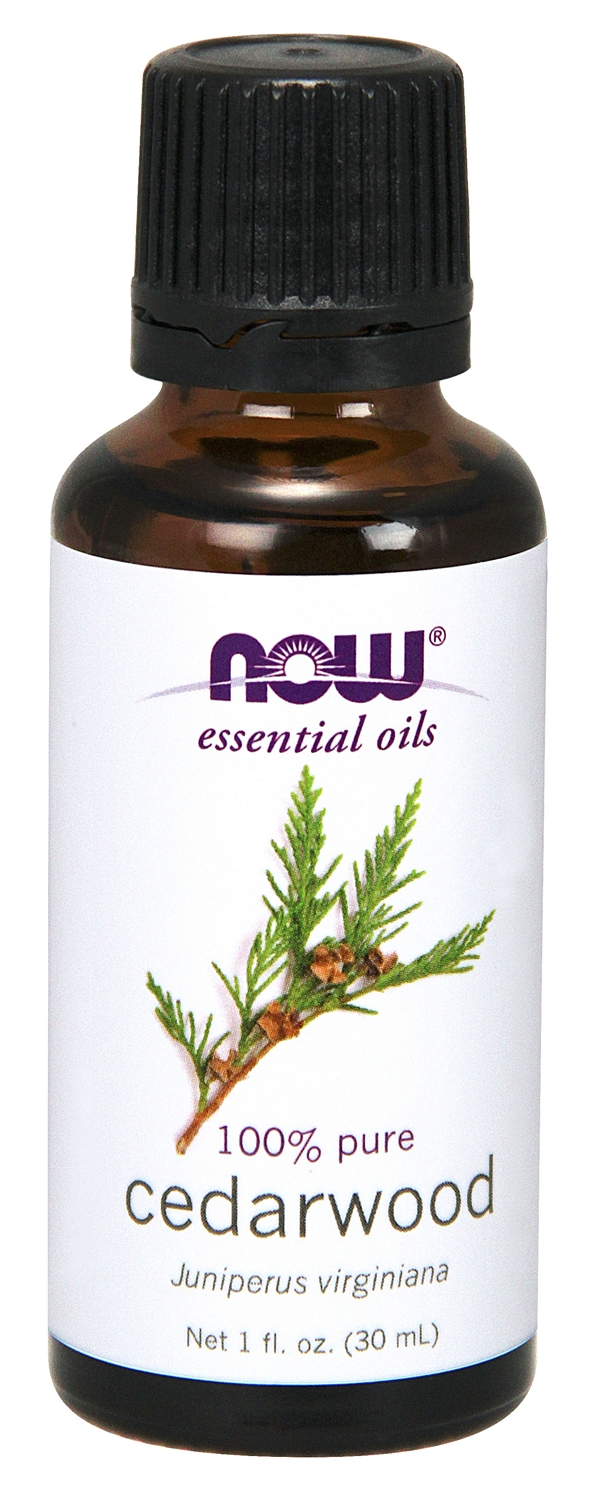 Cedarwood Oil 1 fl oz (30 ml) by NOW