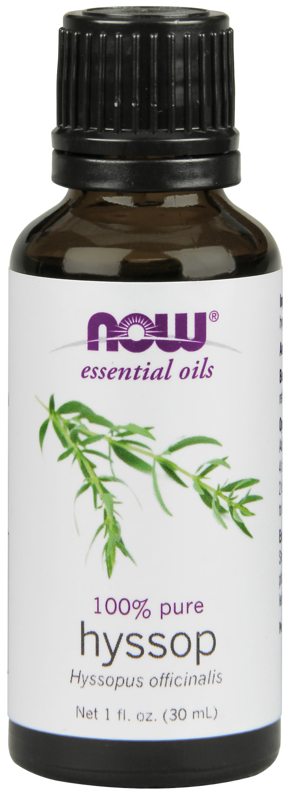 Hyssop Oil 1 fl oz (30 ml) by NOW