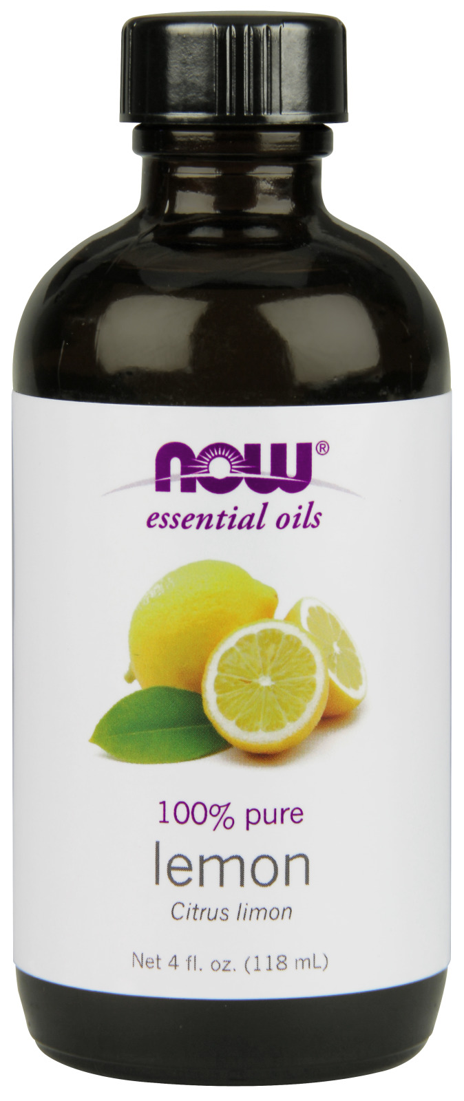 Lemon Oil 4 fl oz (118 ml) by NOW