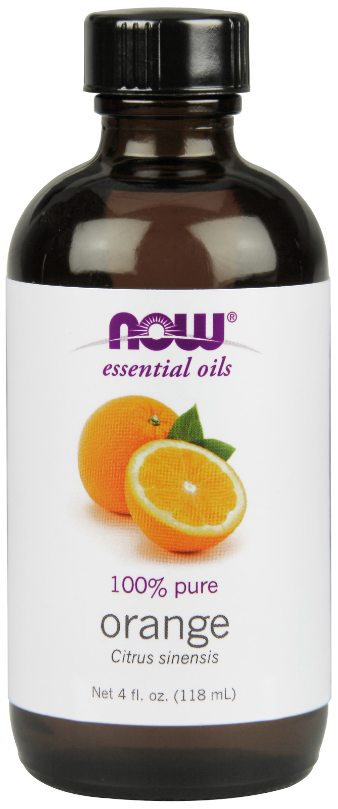 Orange Oil 4 fl oz (118 ml) by NOW