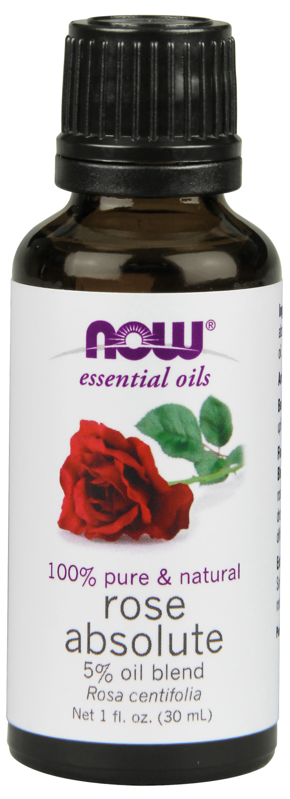 Rose Absolute Oil Blend 1 fl oz (30 ml) by NOW
