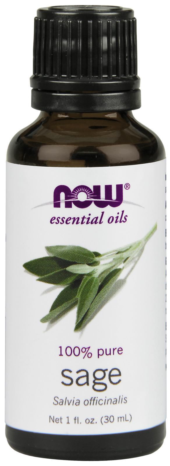 Sage Oil 1 fl oz (30 ml) by NOW