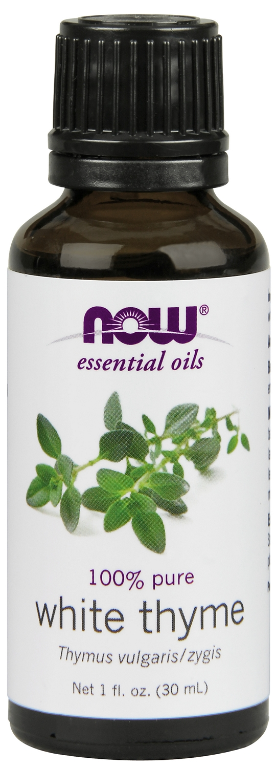 White Thyme Oil 1 fl oz (30 ml) by NOW