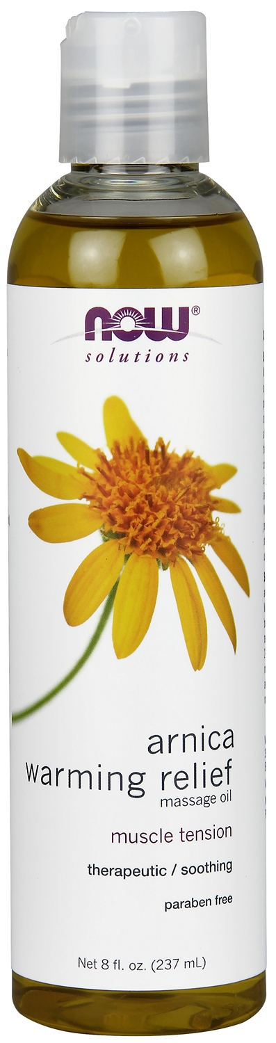 Arnica Warming Relief Massage 8 fl oz (237 ml) by NOW