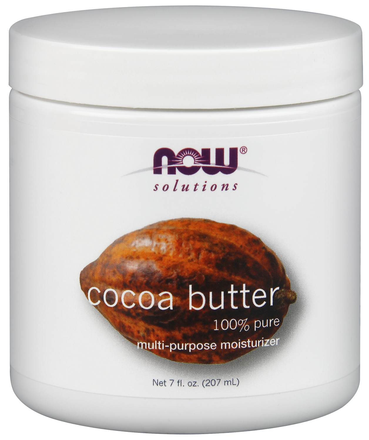 Cocoa Butter 7 fl oz (207 ml) by NOW
