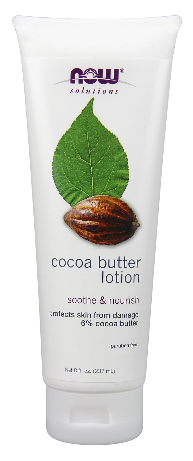 Cocoa Butter Lotion 8 fl oz (240 ml) by NOW