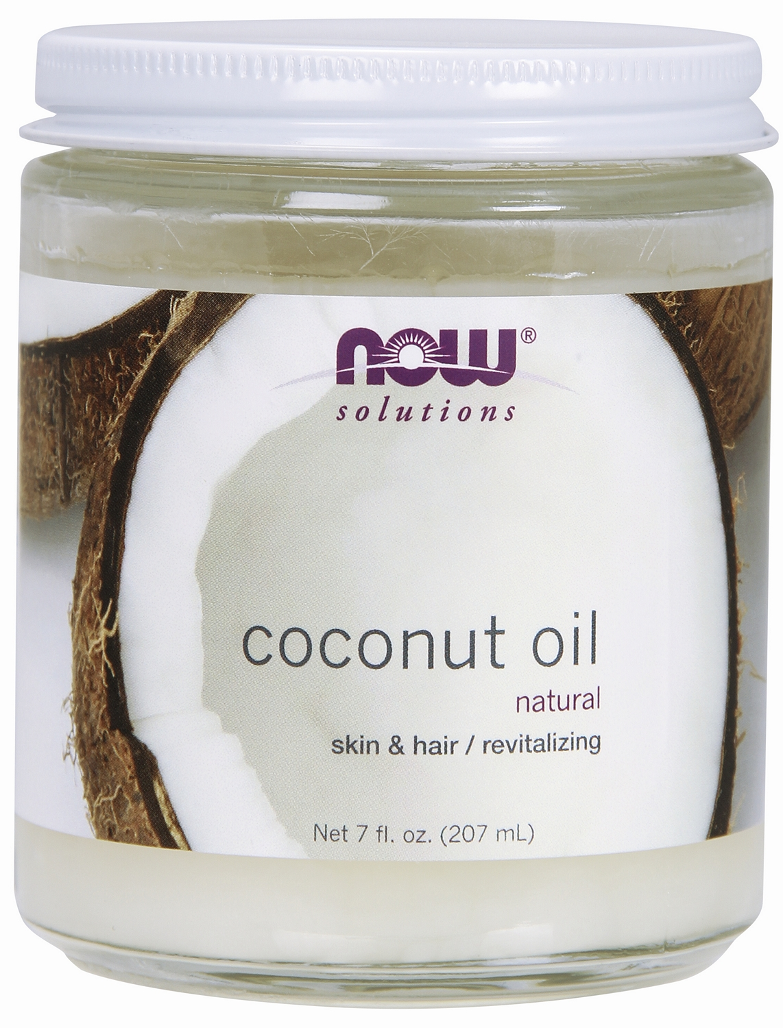 Coconut Oil 7 fl oz (207 ml) by NOW