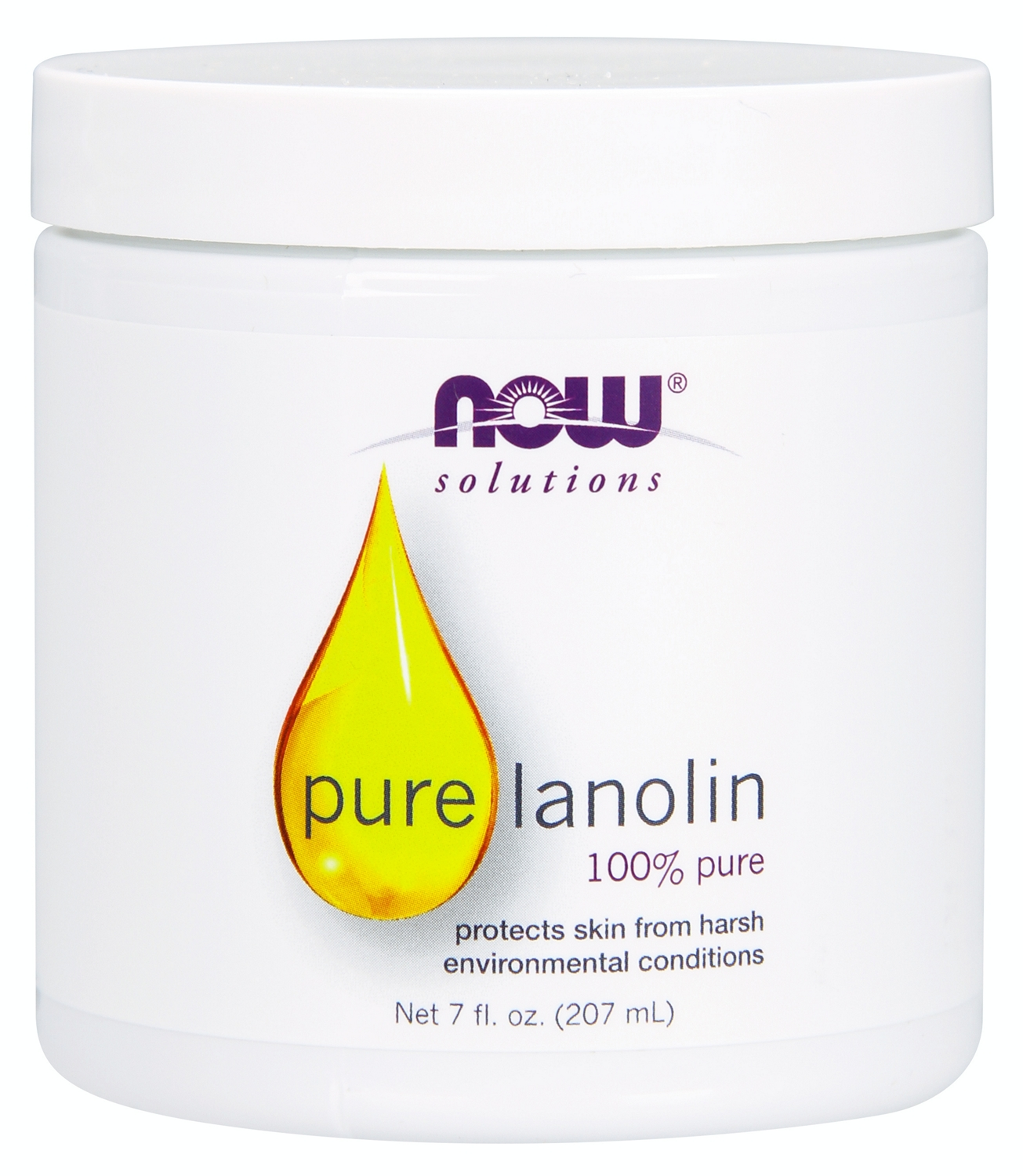 Pure Lanolin 7 fl oz (207 ml) by NOW