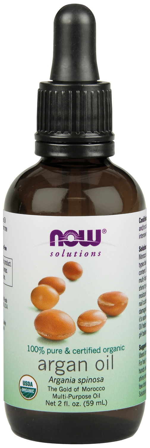 Argan Oil Certified Organic 2 fl oz (59 ml) by NOW Foods
