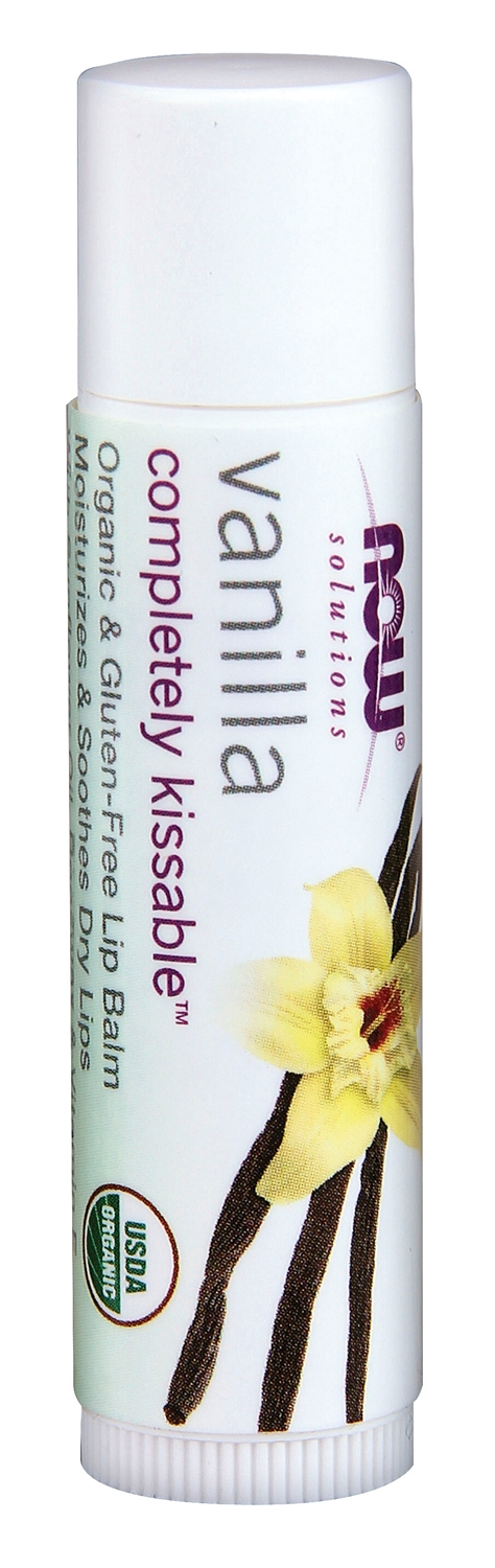 Completely Kissable Vanilla Lip Balm .15 oz by NOW