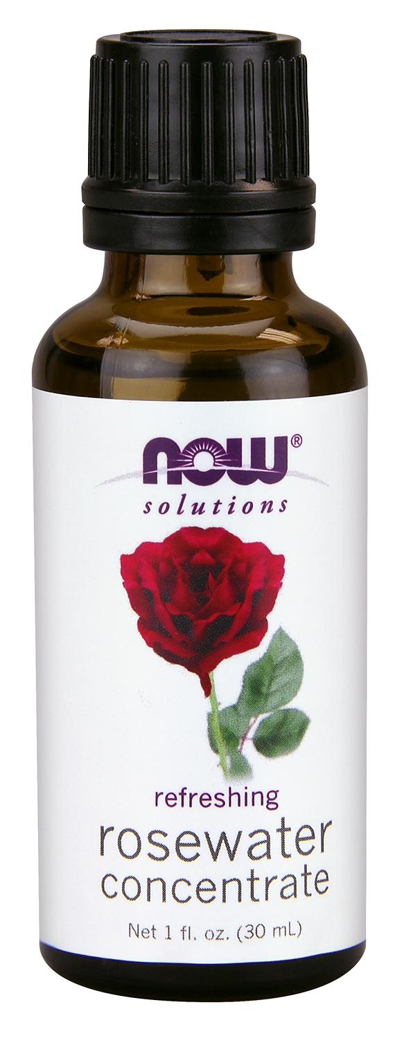 Rosewater Concentrate 1 fl oz (30 ml) by NOW