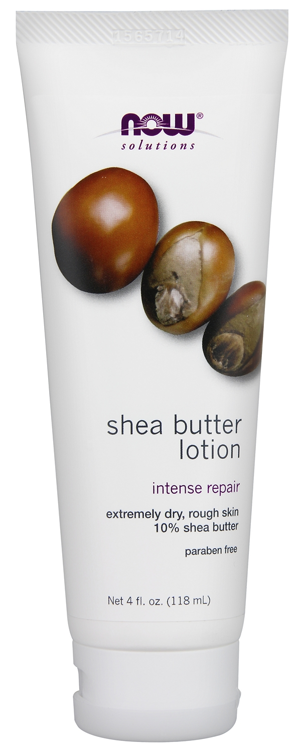 Shea Butter Lotion 4 fl oz (118 ml) by NOW