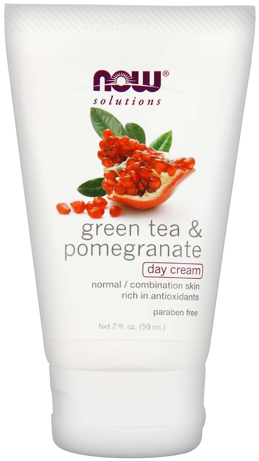 Green Tea & Pomegranate Day Cream 2 fl oz (60 ml) by NOW