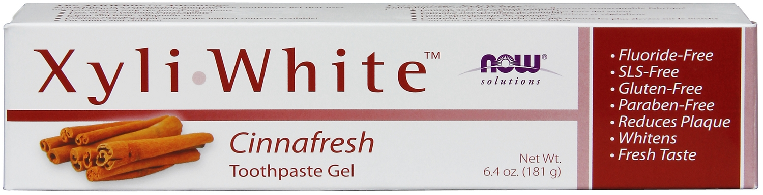 Xyliwhite Cinnafresh Toothpaste Gel 6.4 oz (181 g) by NOW