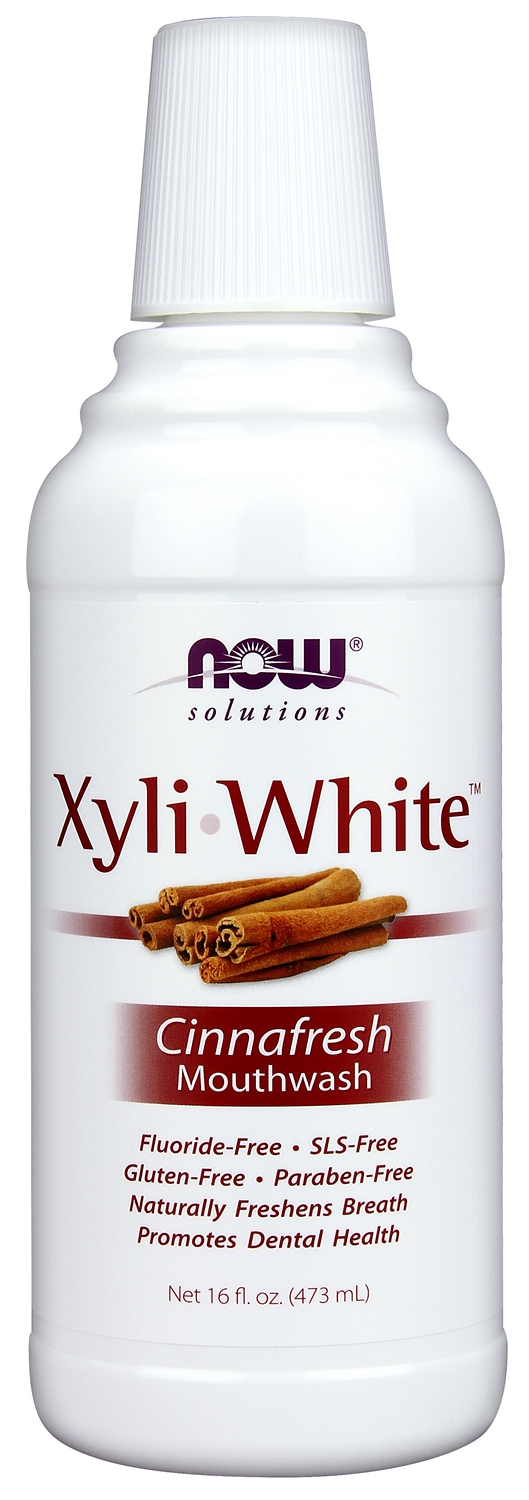 Xyliwhite Cinnafresh Mouthwash 16 fl oz (473 ml) by NOW