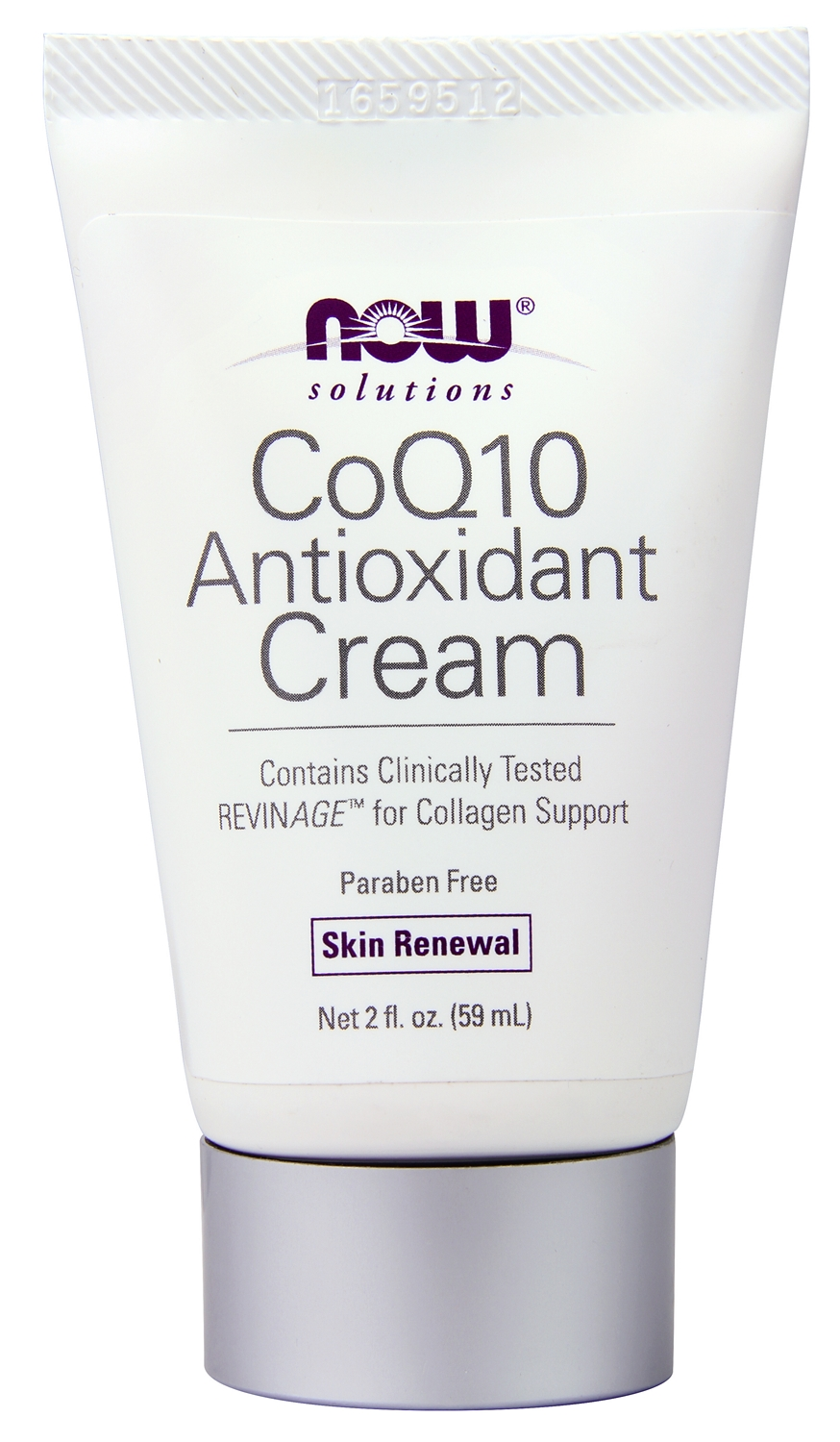 CoQ10 Antioxidant Cream 2 fl oz (60 ml) by NOW