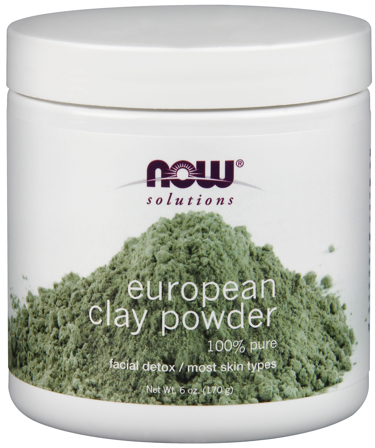 European Clay Powder 8 oz (227 g) by NOW