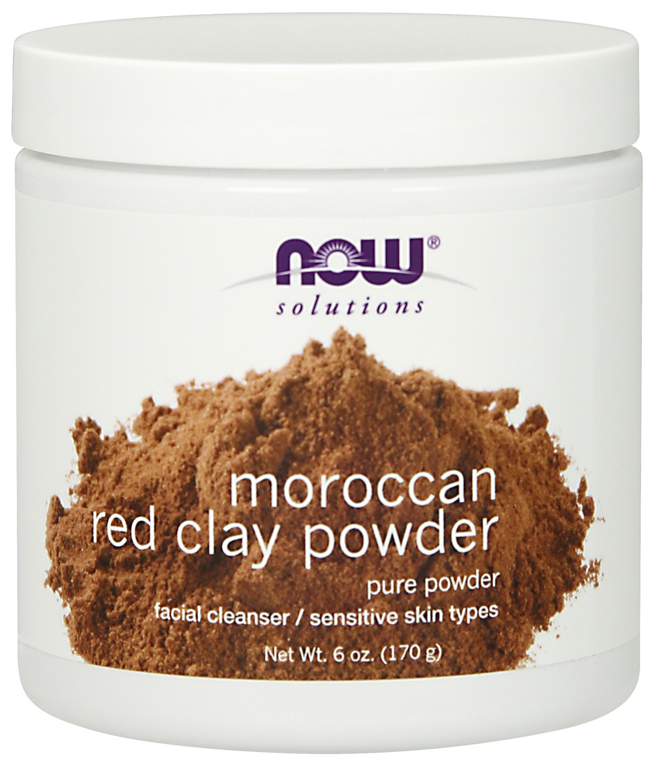 Red Clay Powder Moroccan 6 oz (170 g) by NOW