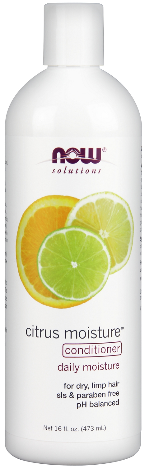 Natural Citrus Moisture Conditioner 16 fl oz (473 ml) by NOW