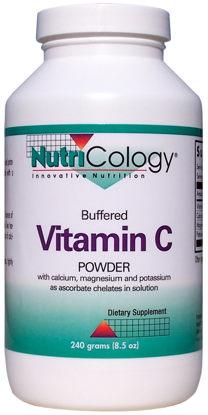 Buffered Vitamin C Powder 240 grams (8.5 oz) by Nutricology