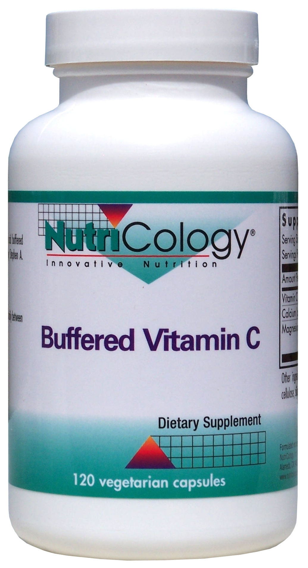 Buffered Vitamin C 120 Vegetarian Caps by Nutricology