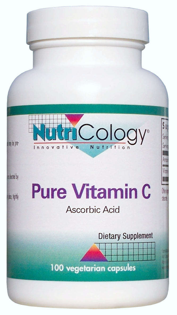 Pure Vitamin C 100 Vegetarian Caps by Nutricology