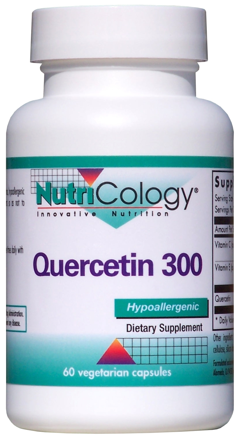 Quercetin 300 60 Vegetarian Caps by Nutricology