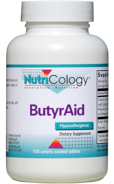 ButyrAid 100 tabs by Nutricology