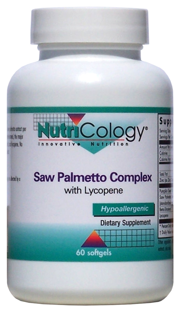 Saw Palmetto Complex 60 sgels by Nutricology