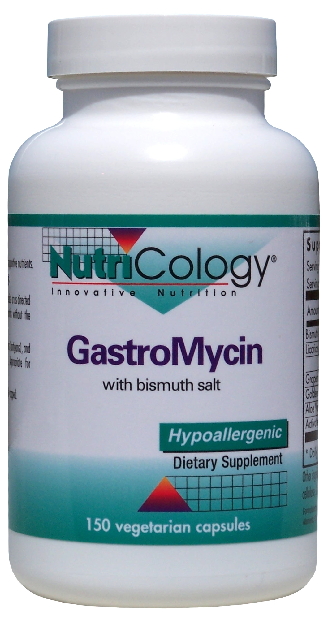 GastroMycin 150 Vegetarian Caps by Nutricology