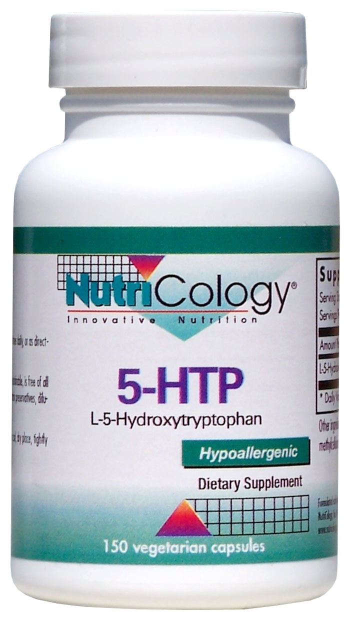 5-HTP 150 Vegetarian Caps by Nutricology