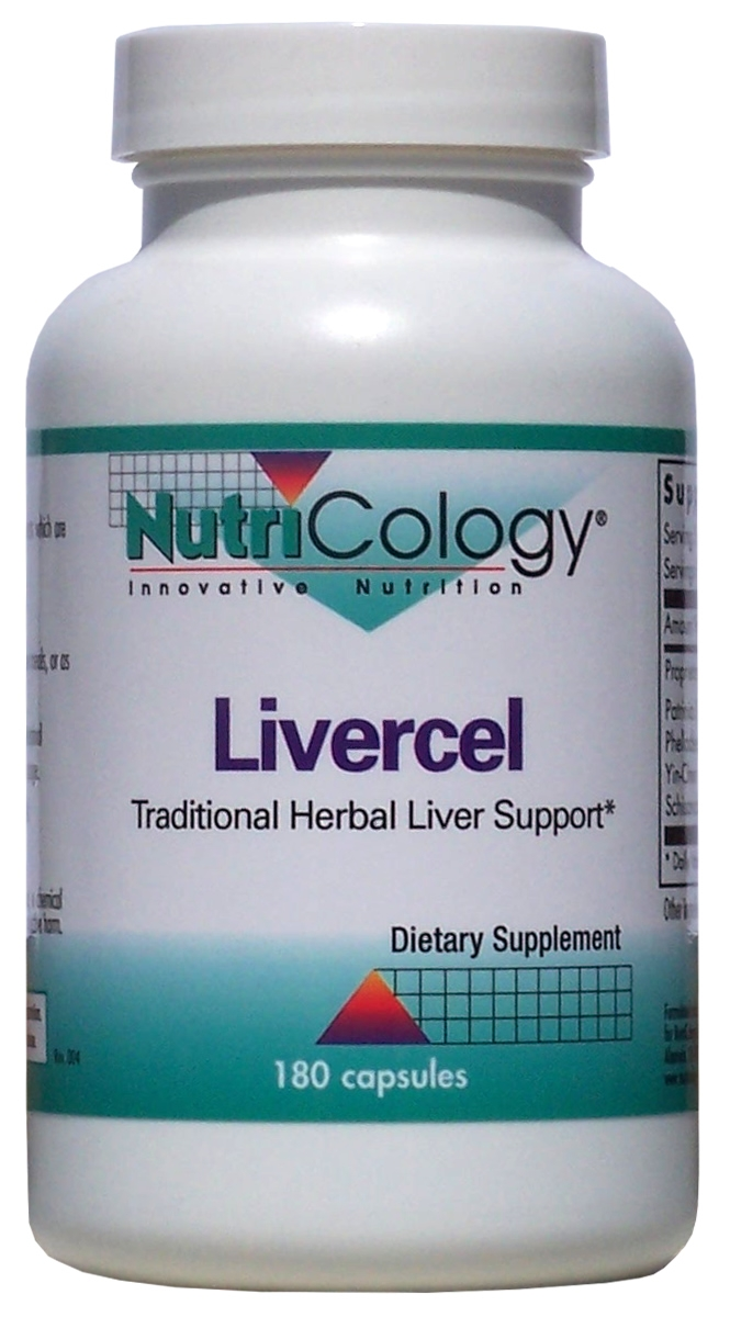 Livercel 180 caps by Nutricology