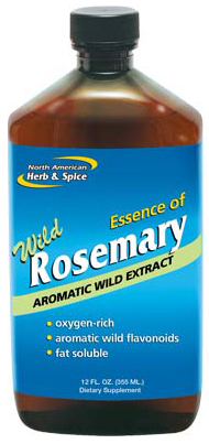 Essence of Wild Rosemary 12 fl oz (355 ml) by North American Herb & Spice