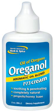 Oreganol P73 Cream 2 oz (60 ml) by North American Herb & Spice