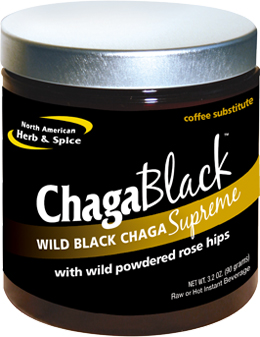 ChagaBlack 3.2 oz (90 g) by North American Herb & Spice