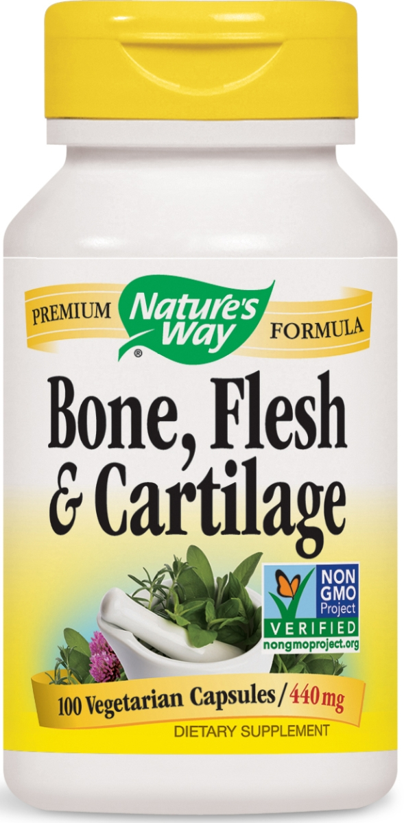 Bone Flesh & Cartilage 480 mg 100 caps by Nature's Way