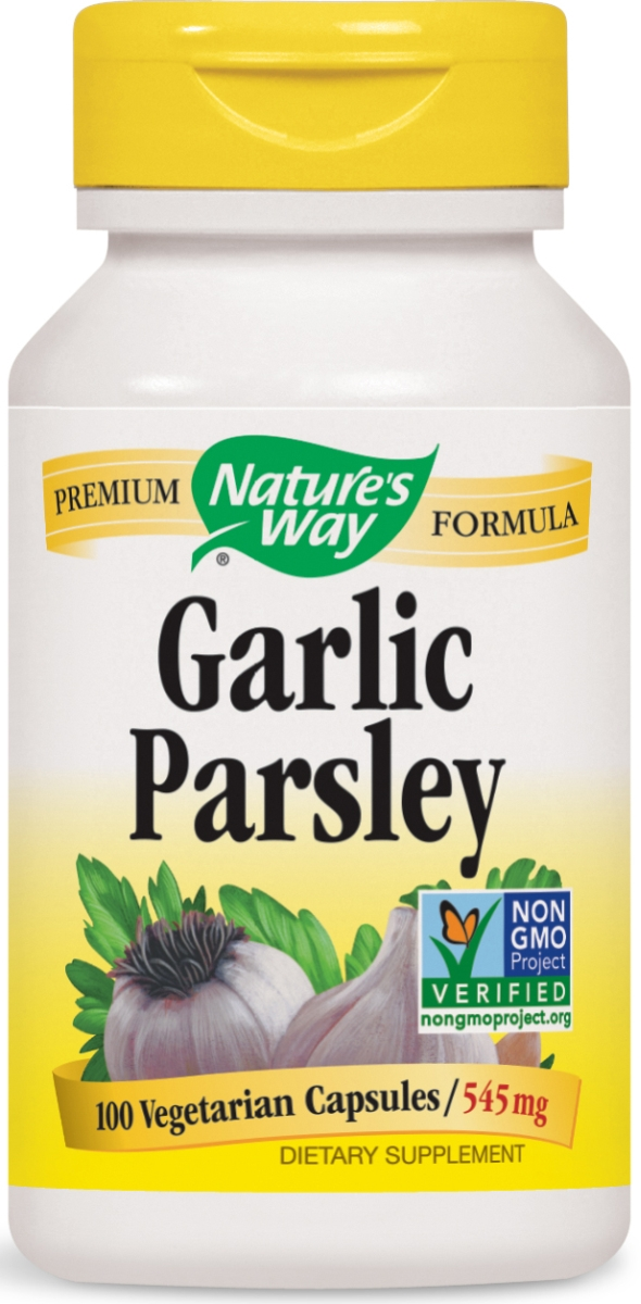 Garlic & Parsley 545 mg 100 caps by Nature's Way