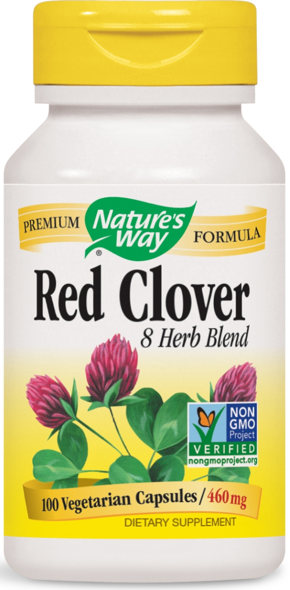 Red Clover with Prickly Ash Bark 460 mg 100 caps by Nature's Way