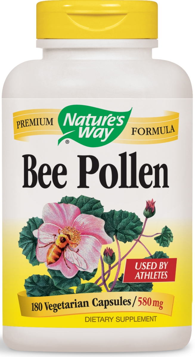 Bee Pollen Blend 580 mg 180 caps by Nature's Way