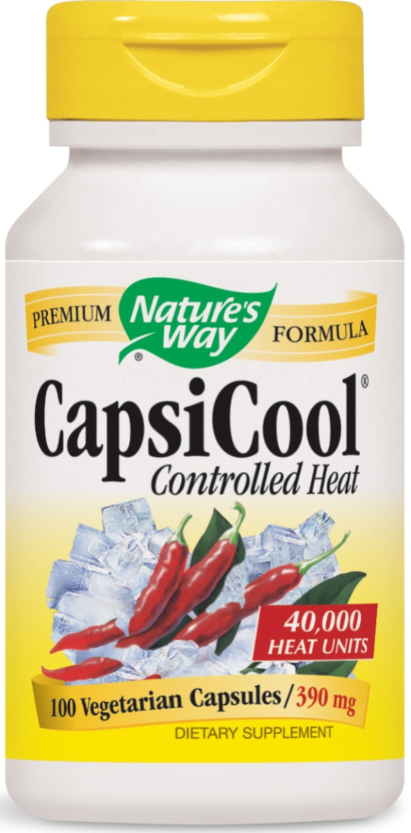 CapsiCool Controlled Heat 100 caps by Nature's Way