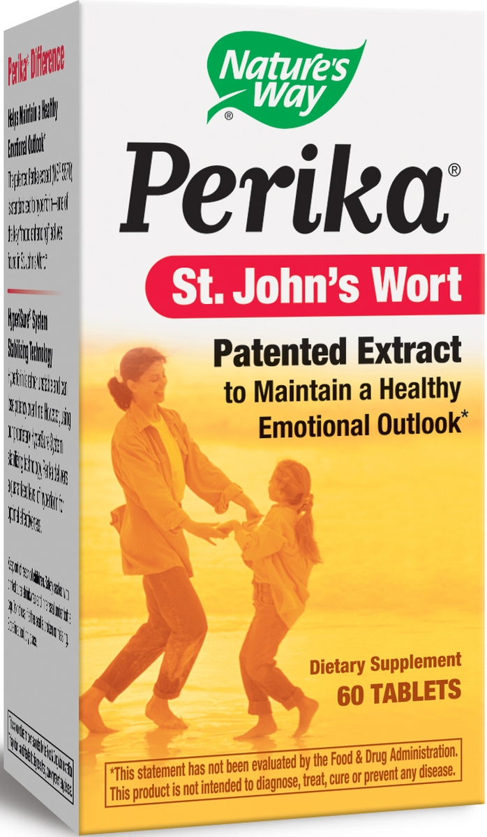 Perika St. John's Wort 60 tabs by Nature's Way