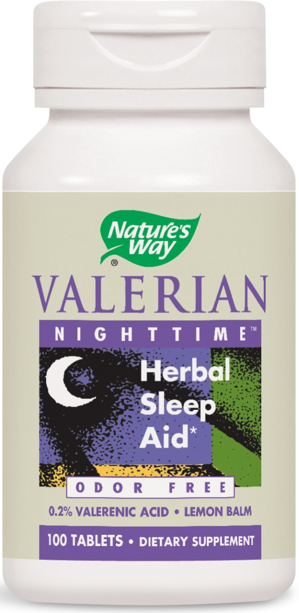 Valerian Nighttime 100 tabs by Nature's Way