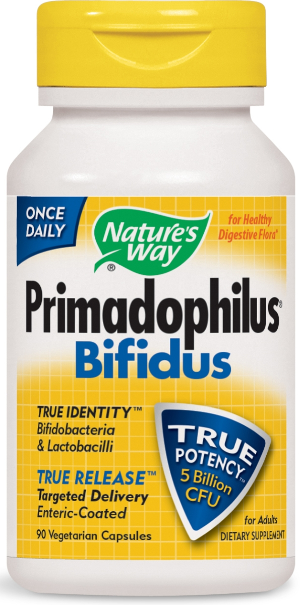 Primadophilus Bifidus 90 Vcaps by Nature's Way