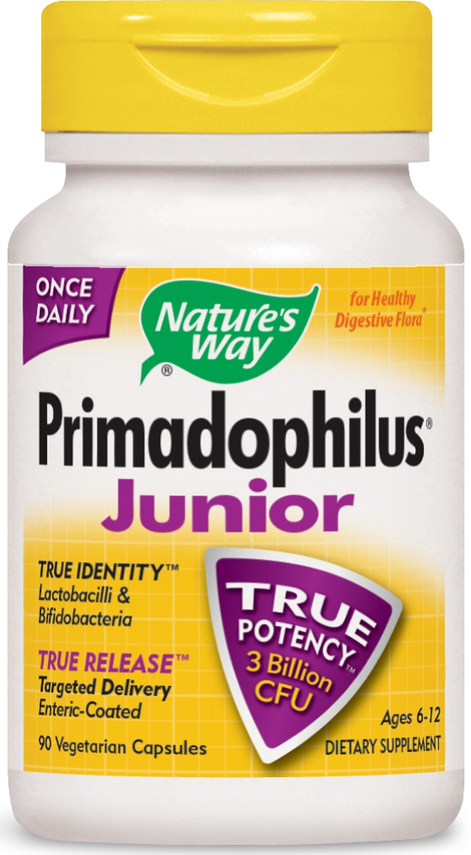 Primadophilus Junior 90 Vcaps by Nature's Way