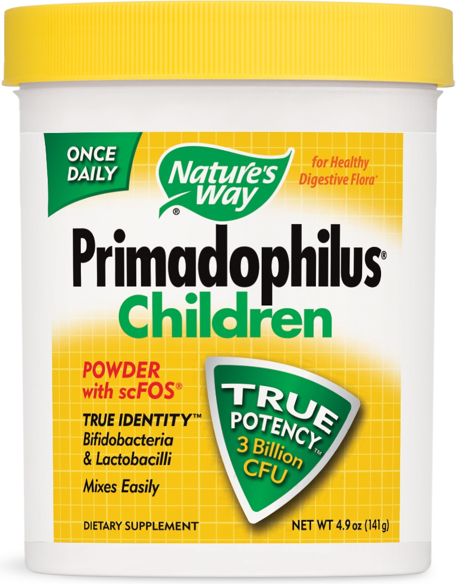 Primadophilus Children Powder with FOS 5 oz (141.75 g) by Nature's Way