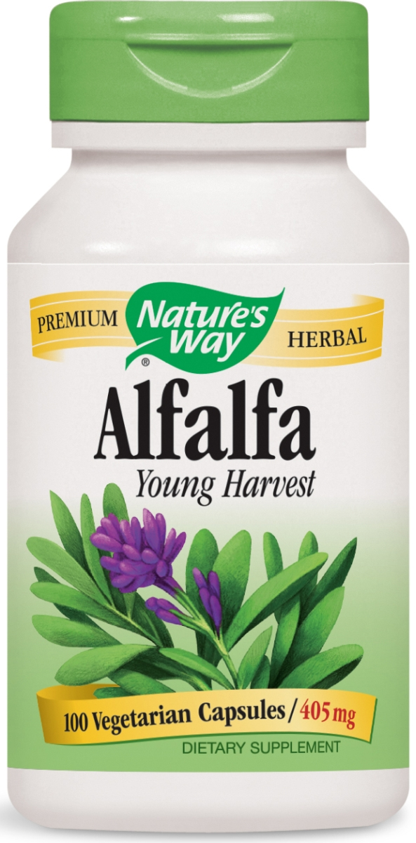 Alfalfa Leaves 405 mg 100 caps by Nature's Way