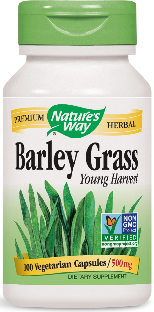 Barley Grass Young Harvest 500 mg 100 caps by Nature's Way