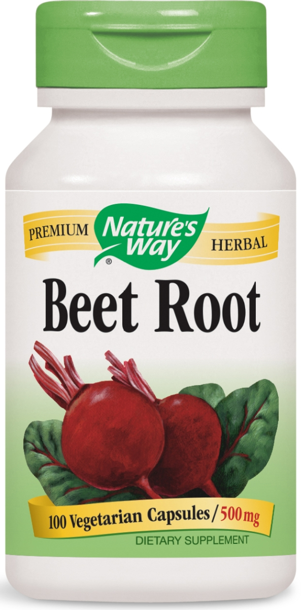 Beet Root Beta Vulgaris 500 mg 100 caps by Nature's Way